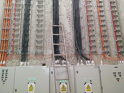 Metro Warszawskie – Linia II. Wykonanie kompletnych instalacji elektrycznych na stacji C18.